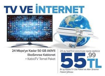 Turksat Kablo Tv ve Kablonet Kampanyası
