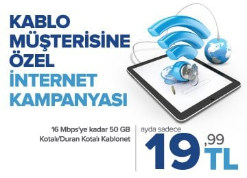 türksat kablonet sınırsız internet kampanyası