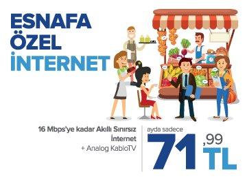 Esnafa Özel İnternet Kampanyası